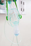 Oxygen Mask. On the hospital Stock Images