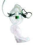 Oxygen mask. An Oxygen mask on a white background royalty free stock photo