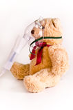 Oxygen Mask On A Bear Stock Images