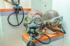 Oxygen masks of the past Royalty Free Stock Photos