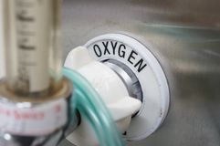 Oxygen Supply Royalty Free Stock Photo