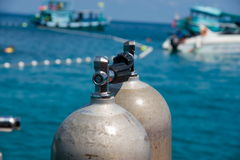 Oxygen Tank Stock Image