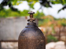 The Oxygen Tank. Royalty Free Stock Images