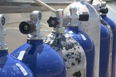 Oxygen Tanks stock photography