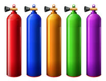 Oxygen tanks Royalty Free Stock Photography