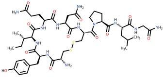 Oxytocin love hormone Stock Photos