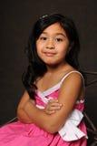 oy ståendebarn för flicka Royaltyfria Foton