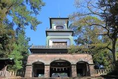 Oyama寺庙今池日本 库存照片