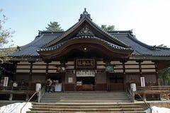 Oyama寺庙 免版税库存图片