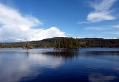 Oyama湖 库存图片
