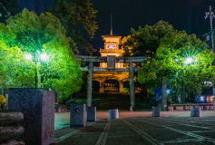 Oyama Jinja Shrine Stock Photo