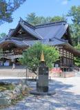 Oyama relikskrin Kanazawa Arkivfoto