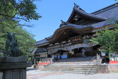 Famous Oyama Shrine Kanazawa Japan Stock Photography
