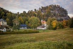 Oybin, Alemanha Foto de Stock Royalty Free