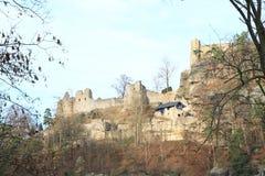 Oybin castle and monastery Stock Photography