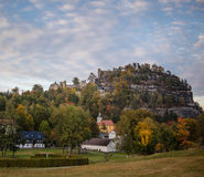 Oybin, Niemcy Zdjęcia Royalty Free