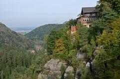 Oybin in Oberlausitz, Germany Royalty Free Stock Photography