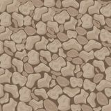 Oyester and Hazel Stone Textured background. This domestic round edged Stones background is a beautiful blend of oyster browns undertone perfect for flooring Royalty Free Stock Images