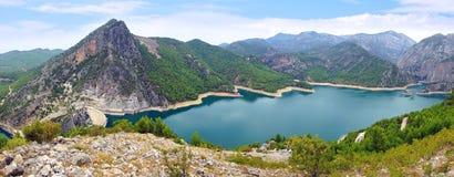 Oymapinar水坝,土耳其 库存照片