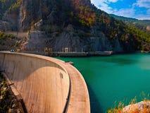 Oymapinar水坝 库存图片