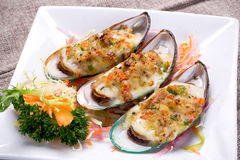 Oyster. Seafood Prepared s Freshness Royalty Free Stock Photography
