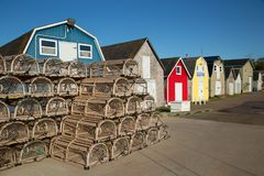 Free Oyster Barns In Prince Edward Island Royalty Free Stock Photography - 108461147