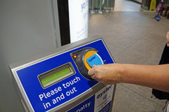 Oyster card Royalty Free Stock Photos