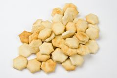 Oyster crackers Stock Image