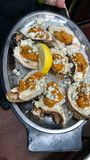 Oyster dish Stock Photo