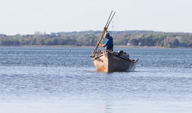 Oyster Fishing Royalty Free Stock Images