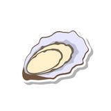 Oyster icon Royalty Free Stock Photo