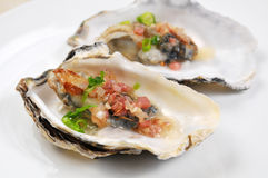 Oyster meat Stock Photography