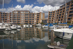 Oyster Quay. Port Solent Portsmouth Royalty Free Stock Photos