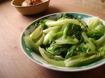 Oyster sauce with lettuce. Chinese food - Oyster sauce with lettuce Stock Image