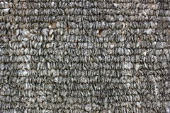 Oyster shell walls Royalty Free Stock Images