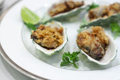 Oyster Stake Stock Photography