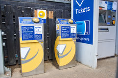 Free Oyster Terminals In London. Royalty Free Stock Photos - 98268538