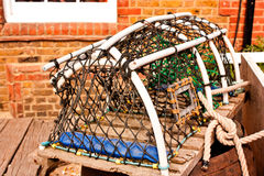 Oyster trap Stock Photo