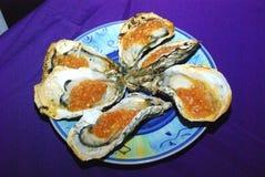 Oysters, Guangzhou, China Stock Photos