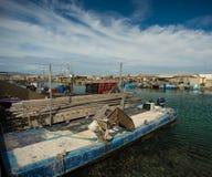 Oysters shacks Royalty Free Stock Photo
