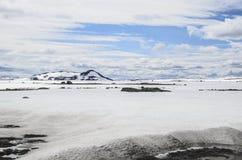 Oystre Slidr Oppland Норвегия Стоковая Фотография RF