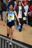 Ozaki Akemi de gagnant de marathon du Japon Photo libre de droits