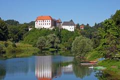 Ozalj Castle, Croatia stock photography