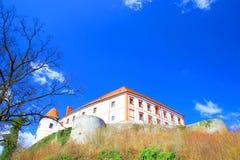 Ozalj in Kroatië stock afbeelding
