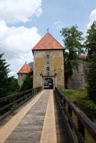 Ozalj-Schloss, Kroatien lizenzfreies stockbild