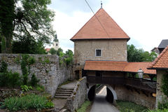 Ozalj slott, Kroatien royaltyfri bild