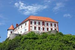 Ozaljkasteel, Kroatië Stock Foto's