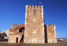 Ozama Fortress in Santo Domingo Royalty Free Stock Images