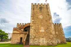 Ozama Fortress in Santo Domingo, Dominican Republic Royalty Free Stock Images