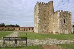 Ozama Fortress in Santo Domingo, Dominican Republic. Stock Image